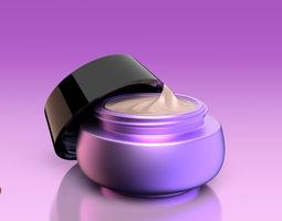 Creme Jar v004 3D