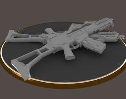 g36c carbine rifle hi-res 3d model obj mtl