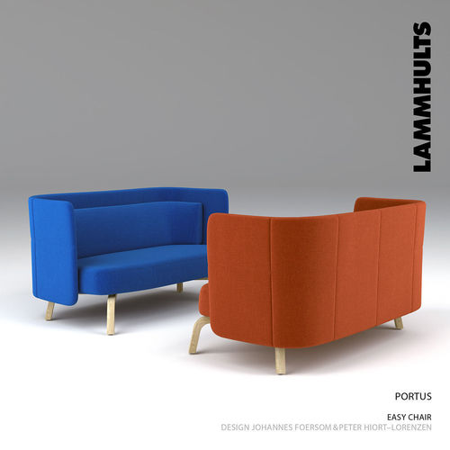 lammhults portus easy chair  3d model max fbx 1