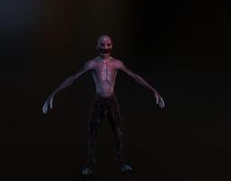 3D asset VR / AR ready Demon