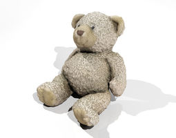 Teddy Bear 1 3D asset