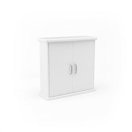 white bathroom cabinet 3d model obj