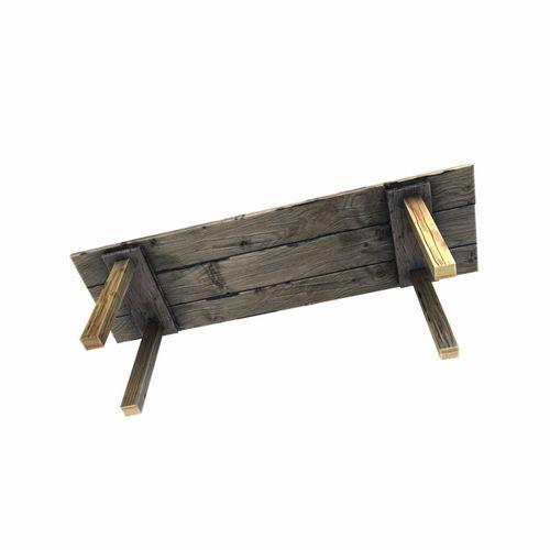 ... Old Wooden Table 3d Model Low Poly Obj Fbx Tga 5 ...
