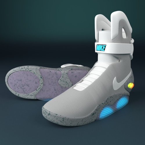 best sneakers f001a 4c843 nike air mag 3D   CGTrader