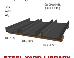 channel 3d models download 3d channel files   cgtrader