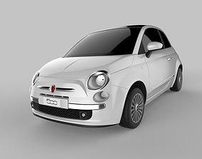 3D model Fiat 500 2007 Autodesk Alias