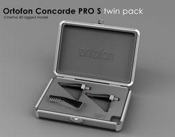 Ortofone Concorde Pro S twin pack 3D Model