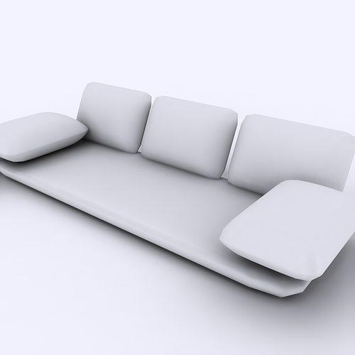 Arabian Floor Sofa Model Max Obj Mtl S Fbx 10