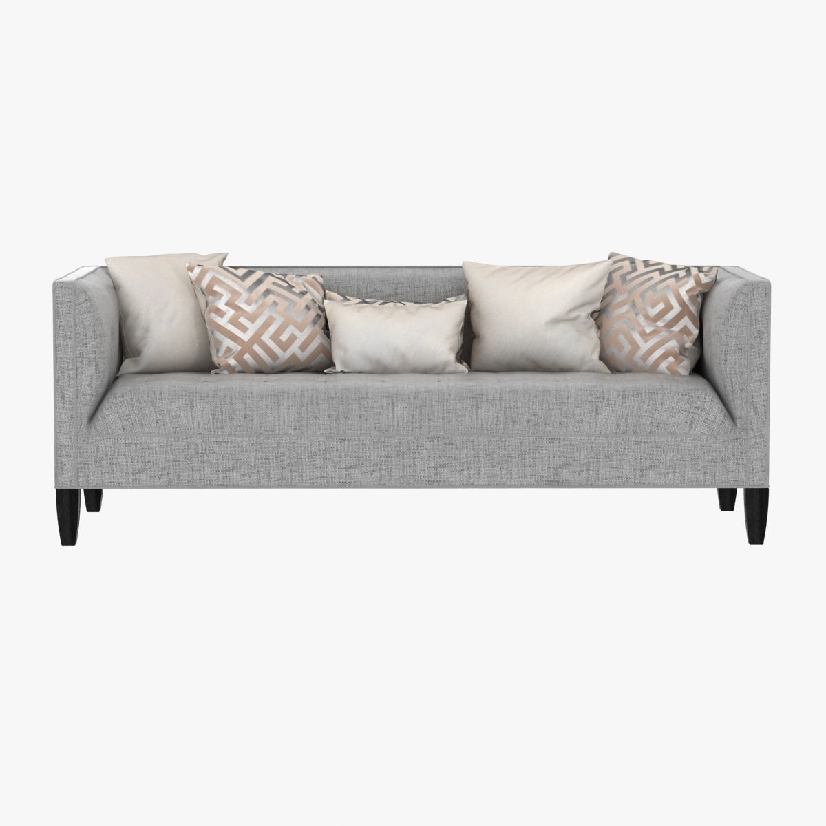 Mitchell Gold Bob Williams Kennedy Sofa 3d Model Max Obj Mtl 3ds Fbx ...