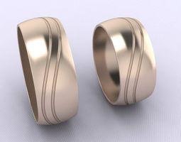 3d print model wedding rings