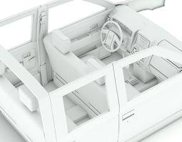 Nissan Interior  3D Model