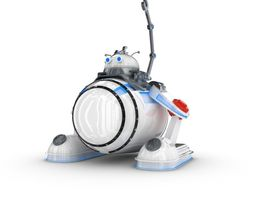 3D Funny Robot Character