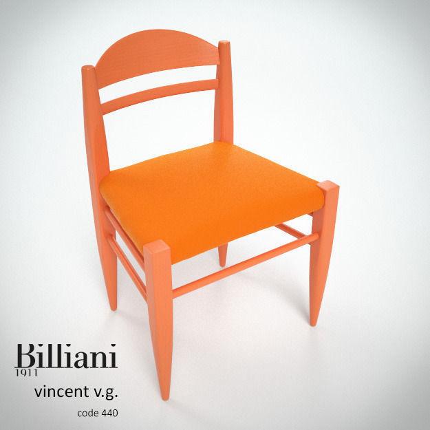 Billiani Vincent VG side chair