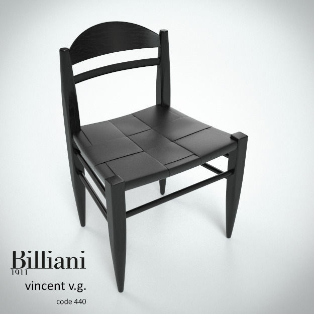 Billiani Vincent VG side chair black