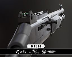 3D asset M1014 - Model and Textures