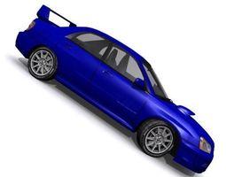 Subaru Impreza WRX STI 3D asset
