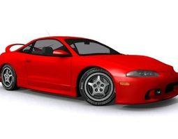 Mitsubishi Eclipse 1995 3D asset