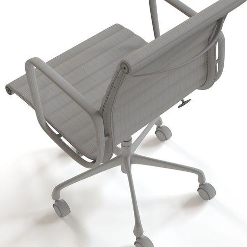 Herman Miller Eames Management Chair 3d Model Max Fbx 30