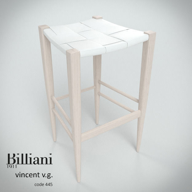 Billiani Vincent VG stool 445 white