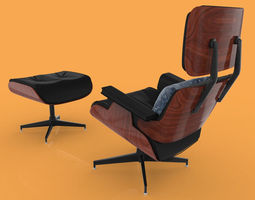 3D model Eames Lounge Chair byGus