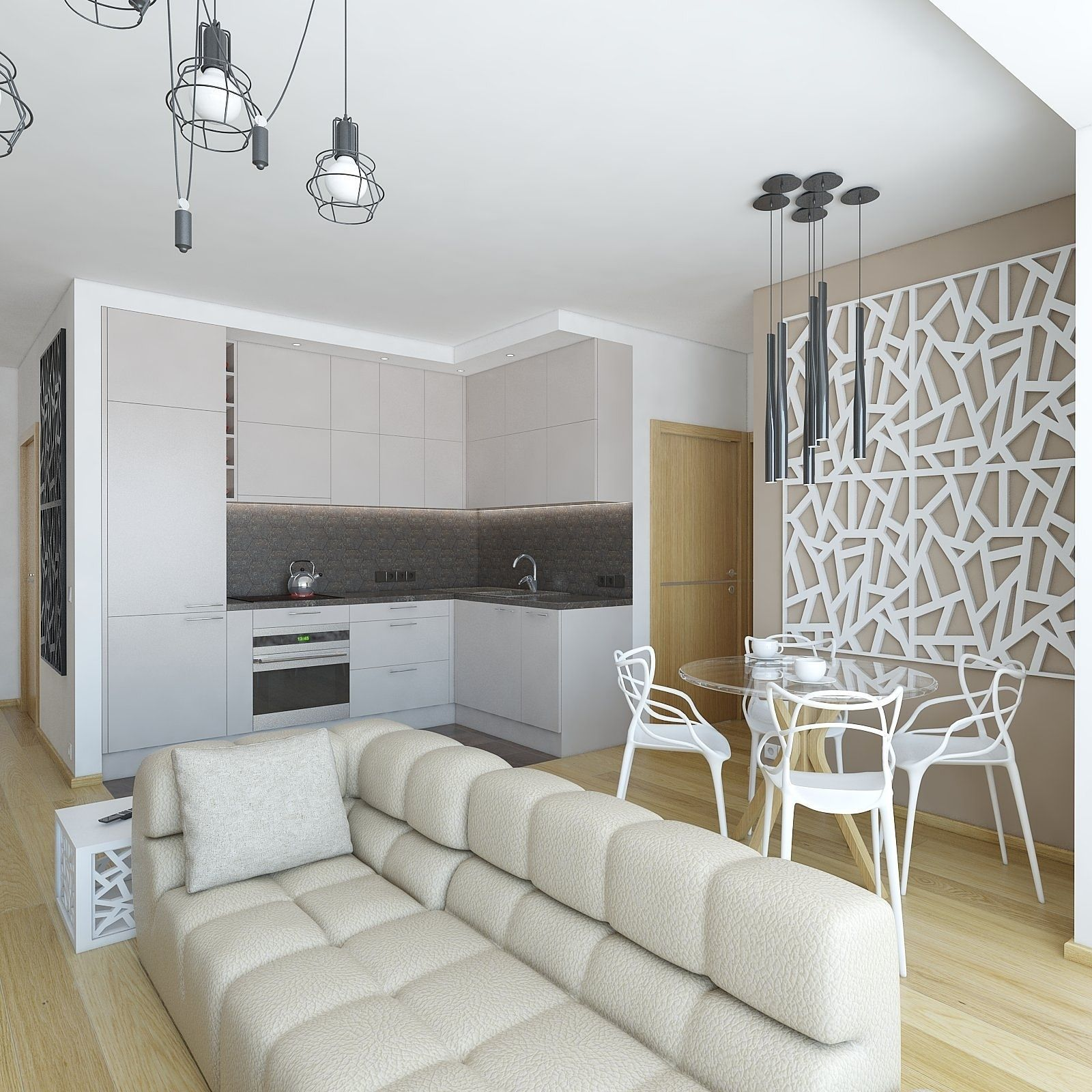 3D model Cozy apartment living room | CGTrader