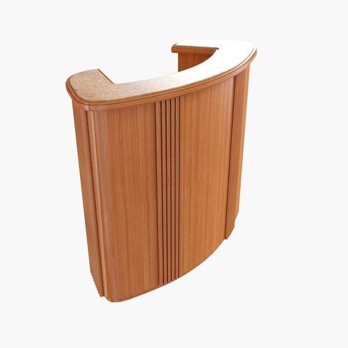 Art Deco Bar Cabinet 3D Model