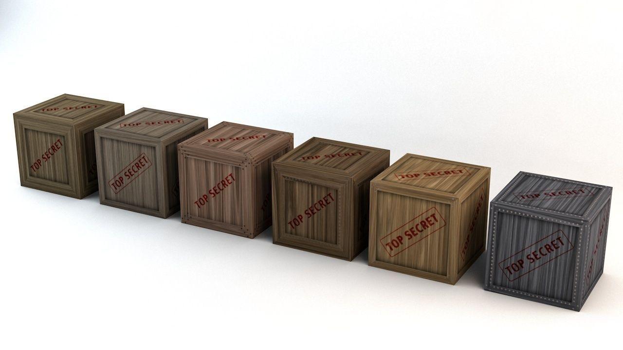 Top Secret Wooden Crates Pack