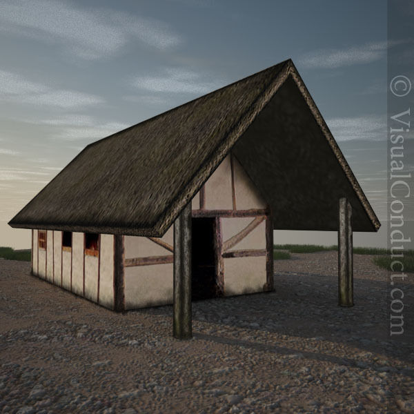 Medieval Farm House
