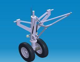 Nose Landing Gear II 3D model