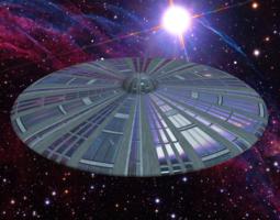 3d classic ufo