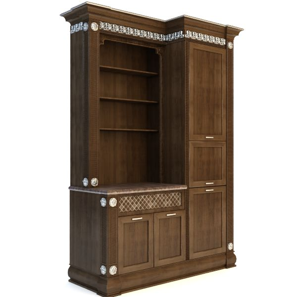 Kitchen Cabinet 3d Model Max 3ds Fbx Cgtradercom Ikea S Home Depot