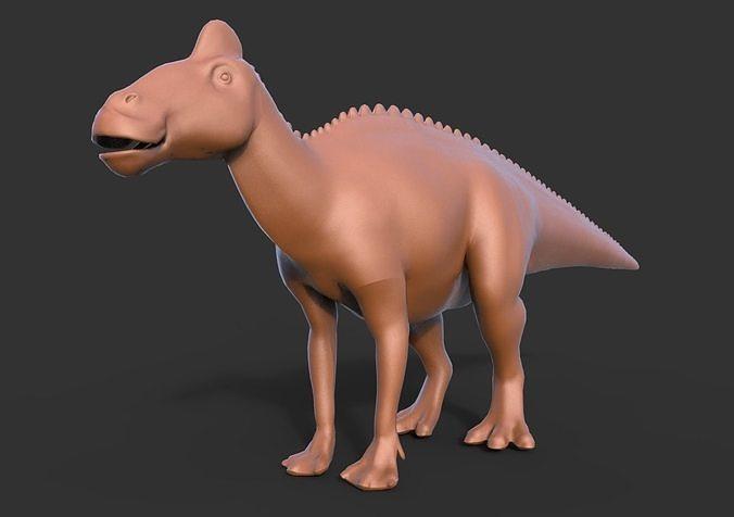 Dinosaur Edmontosaurus