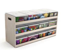 3D model Storage Container Digital