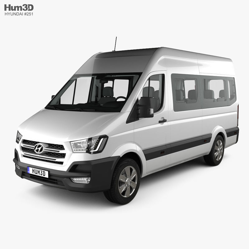Hyundai H350 Passenger Van with HQ interior 2015