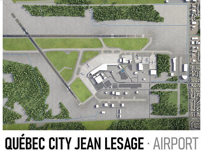 Quebec City Jean Lesage Airport