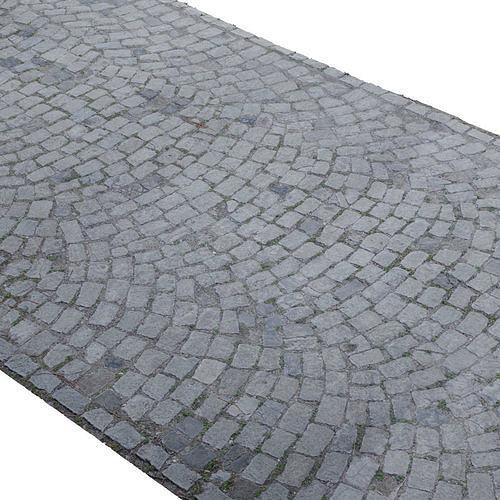 Cobblestone Rock Road Scan