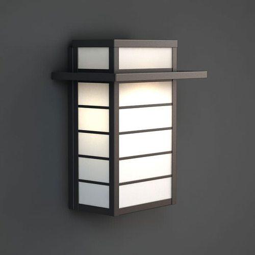 Asian Wall Lamp 3D Model