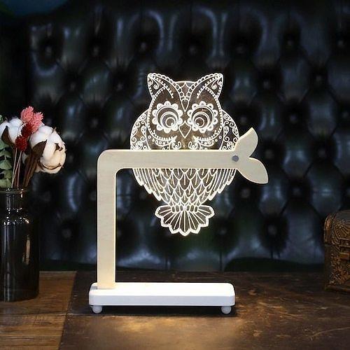 LED Acrylic Mood Light Owl