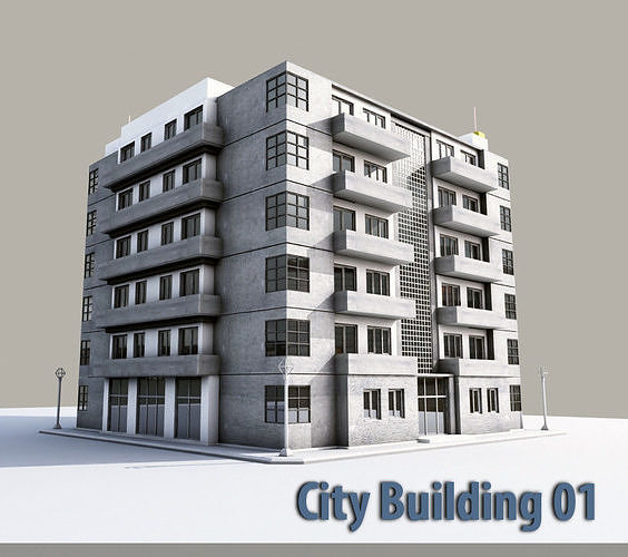 City Building 01