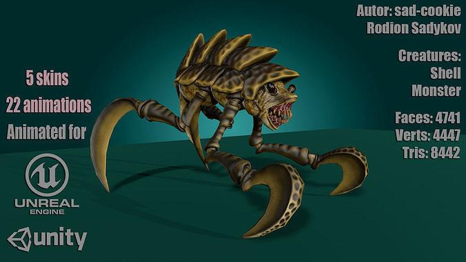 Shell Monster