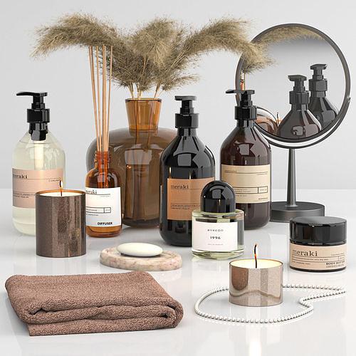 Bathroom accessories set 02