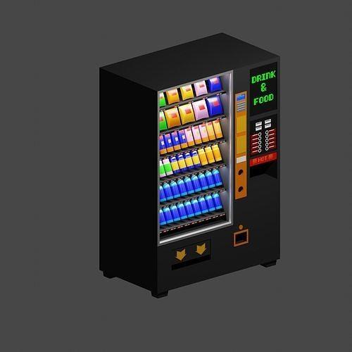 Vending Machine Lowpoly
