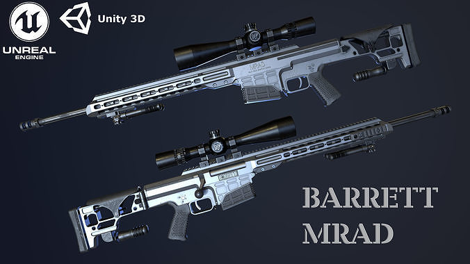 BARRETT MRAD - GAME READY MODEL 4K