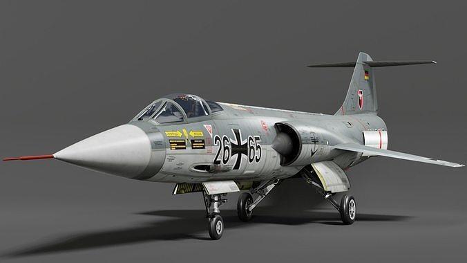 F104G starfighter fighter jet