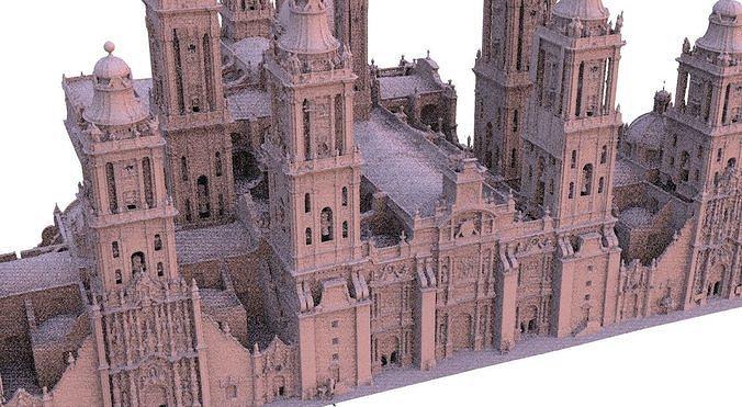 Cathedral Huge detailed