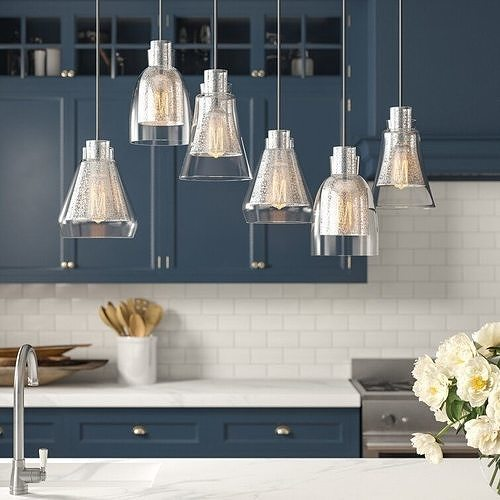 Perot 6 - Light Cluster Bell Pendant See More by Three Posts