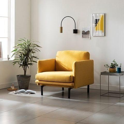 Mobinto Single Seat Style Clean Washable XF Fabric Sofa