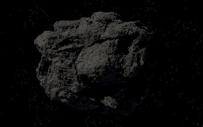 asteroid version 3 high detail