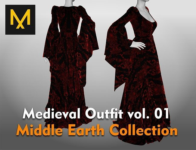 Medieval Outfit vol 01 Middle Earth Collection