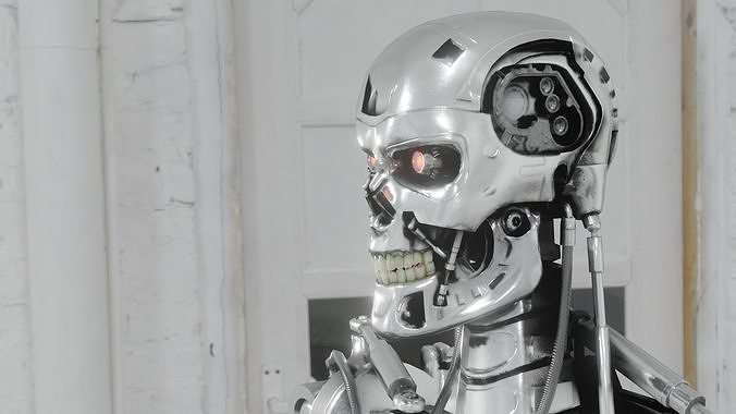 Terminator Endoskeleton - Classic model